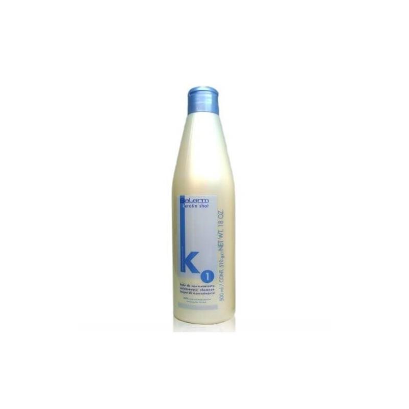 Keratin shot - Plaukus ištiesinantis ir atstatantis šampūnas su keratinu