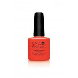 Shellac nail polish - ELECTRIC ORANGE
